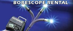 Borescope Rental at M.T. McArdle